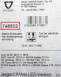 Wiring harness label